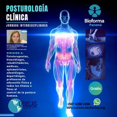 JORNADA INTERDISCIPLINARIA DE POSTUROLOGÍA CLÍNICA. (UDELAS 04/09/19)