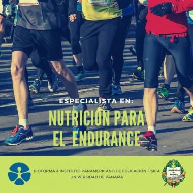 ESPECIALISTA EN NUTRICIÓN PARA EL  ENDURANCE