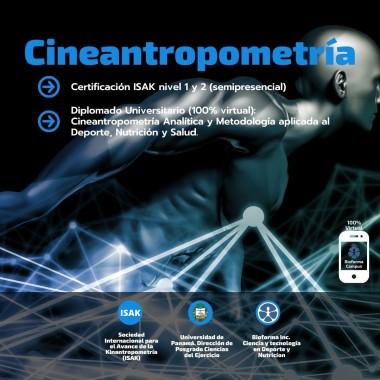 Diplomado Universitario: Cineantropometría Analítica y Metodología Aplicada al Deporte, Nutrición y Salud. (100% Virtual)