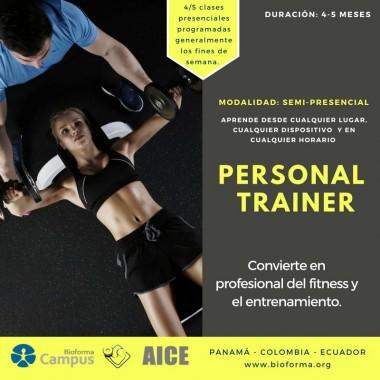 Certificación: Personal Trainer. Colombia